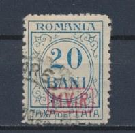 Duitse Rijk/German Empire/Empire Allemand/Deutsche Reich Romania (MViR) 1918 Mi: PM 3 (Gebr/used/obl/o)(1704) - Occupation 1914-18