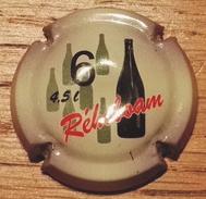 Plaque De Muselet 001 Ou Capsule De Champagne 6 Réhoboam 4.5 Litres - Unclassified