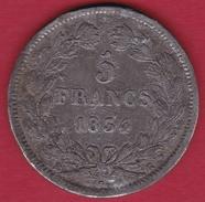 France 5 Francs Louis Philippe Fausse Pour Servir - France
