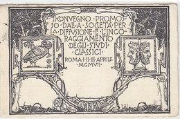 Convegno Studentesco - 1924 - Cartolina Firmata Paschetto     (A29-1206239 - Autres Illustrateurs