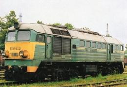 Diesel-Electric Locomotive Of Poland State Railways (PKP) In Chojnice - 2002   -  CPM - Eisenbahnen