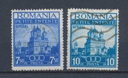 Roemenië/Romania/Roumanie/Rumänien 1937 Mi: 536-537 Yt: 523-524 (Gebr/used/obl/o)(1719) - 1918-1948 Ferdinand, Carol II & Michael