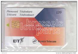 Lot 3 Telecartes Eurostar N ° 3-4-5  Nsb  Rare - 1987