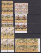 Australia 1993 Dinosaurs 6v Bl Of 4 ** Mnh (35187) - 1990-99 Elizabeth II