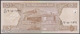 TWN - AFGHANISTAN 66a - 5 Afghanis 2002 UNC - Afghanistan