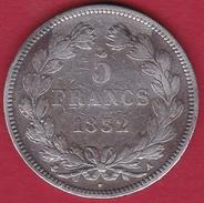 France 5 Francs Louis Philippe  1832 A - France