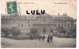 DEPT 14 : édit. E L D  : Caen L Hotel De Ville - Caen