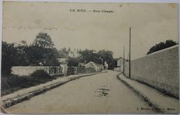 Carte Postale Ancienne Le Mée Rue Chapu - Le Mee Sur Seine