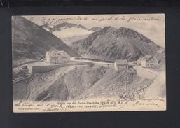 Schweiz AK Gruß Von Der Furka-Passhöhe 1905 - UR Uri