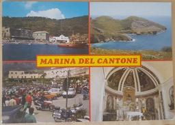MARINA DEL CANTONE - MASSA LUBRENSE (NA) - Vedutine: La Baia - Ieranto - La Piazza - La Chiesa - Napoli (Naples)