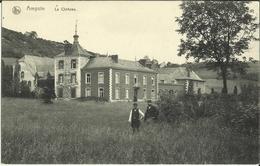 Ampsin -- Le Château.    (2 Scans) - Amay