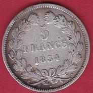 France 5 Francs Louis Philippe  1834 A - France
