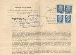 DDR 4x934 Auf Sammlerausweis