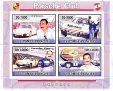 S. TOME & PRINCIPE 2008 - Porsche Club - YT 2570-3 - Sao Tome En Principe