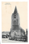(13613-59) Meurchin - L' Eglise Saint Pierre - Animée - Autres Communes