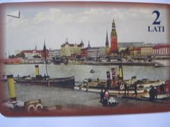 Télécarte De Lettonie