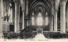 CPA - LAGNIEU (01) - Aspect De L'intérieur De L'Eglise Dans Las Années 20 - Autres Communes