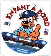 Autocollant Thème Gendarmerie : GENDY - ENFANT A BORD - Police