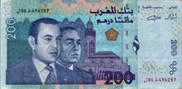 MAROC 200 DIRHAMS De 2002 Pick 71  UNC/NEUF - Morocco
