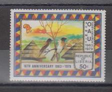 Libéria YV 799 N 1979 Oiseaux - Passereaux