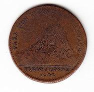 MEDAILLE FRANCE, LOUIS XIV, LUDOVICUS MAGNUS, TRESOR ROYAL 1708. (JM01) - Adel