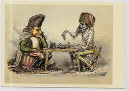 CPSM Jeu échecs Chess Non Circulé 10 X 15 Napoléon Russie Russia - Echecs