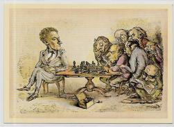 CPSM Jeu échecs Chess Non Circulé 10 X 15 - Chess