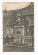 Cp , 25 , MONTBELIARD , Statue CUVIER , Voyagée 1904 - Montbéliard