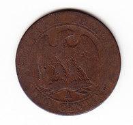 FRANCE KM 777.1, 1856A, 5 Cts. (5BP18) - France