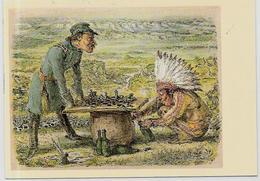 CPSM Jeu échecs Chess Non Circulé 10 X 15 Indien Tire Bouchon - Echecs