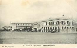 Ref R344- Djibouti - Place Lagarde - Maison Ghaleb - Carte Bon Etat - - Djibouti