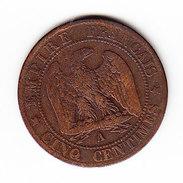 FRANCE KM 797.1, 1861 A, 5 Cts. (5BP20) - France