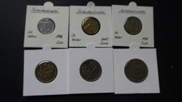 Czechoslovakia - 1973-1985 - 10,20,50 Heller + 1,2,5 Kronen - KM 80,74,89,50,75,60 - VF/XF - Look Scans - Tschechoslowakei