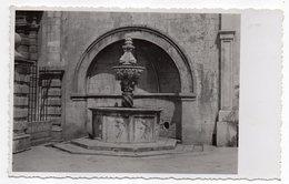 Croatie--1938--DUBROVNIK  --(carte-photo)  Format  14 X 9 --fontaine ??? - Croatie