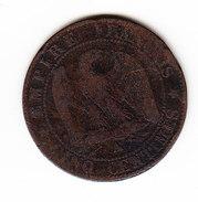 FRANCE KM 797.1, 1861 A, 5 Cts. (5BP23) - France