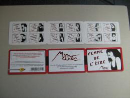 2011    BC 538  * *    FEMME DE L ETRE     NON PLIE - Carnets