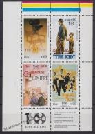 Chile - Chili 1995 Yvert 1254-57, Centenary Of Cinema - MNH - Chile