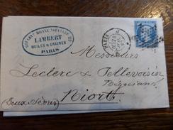 Collection Paris Sur N°14  ,a Voir!! Nuance Et Variété - 1853-1860 Napoléon III