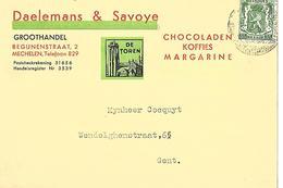 CPA / PK / AK   MECHELEN  Daelmans & Savoye  Chocoladen-koffies-margarine - Alimentaire
