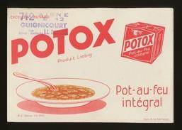 Buvard - POTOX Produit Liebig - P