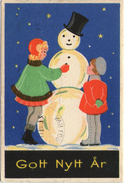 Mini AK - Zweden / Sweden - Small Card - Miniature - GOTT NYTT ÅR - Nieuwjaar / New Year - Anno Nuovo