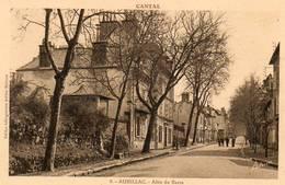 CPA - AURILLAC (15) - Aspect De L'Allée Du Barra Dans Les Années 30 - Aurillac