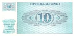 SLOVENIE   10 (Tolarjev)   (19)90   P. 4a   UNC - Slovenia