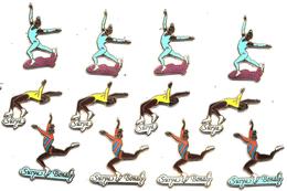Pins SUPERBE LOT DE 12 PIN´S SURYA BONALY - Skating (Figure)