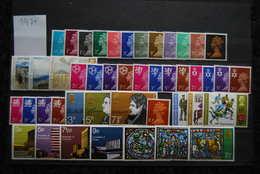 Engeland / Great Britain: Volledig Jaar 1971 Postfris - Year Set 1971 Mint Not Hinged - Nuovi