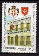 Uruguay 2006 Diplomatic Relations Between Uruguay And The Order Of Malta.MNH - Uruguay