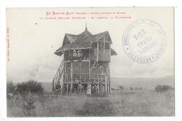 LE BAN De SAPT  (cpa 88)  Entre Senones Et Saales, Le Kiosque Scolaire Forestier, En Arrière La Fontennelle -     - L 1 - France