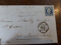 Liquidation Collection Paris Sur N°14 ,a Voir!! Nuance Et Variété. Lettre B. - 1853-1860 Napoleon III