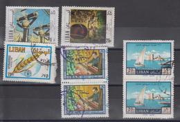 Liban Lot De 17 Timbres O - Liban