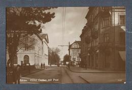 AARAU-HOTEL GERBER Mit POST, 1918 - Rarität, SCHWEIZ - SUISSE - AG Argovie